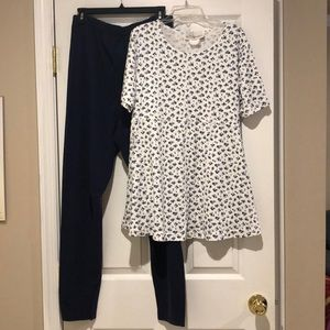 Motherhood Maternity Set (Top & Bottom)